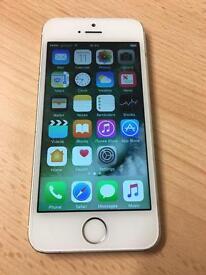 Apple iphone 5s 16gb white silver Unlocked