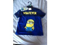 Brand new Minions t-shirt size 3-4 years