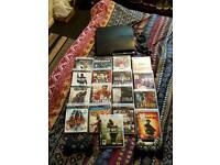 PS3 CONSOLE AND GAMES BUNDLE
