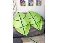 2 x very large Ikea leaf canopies £15 for both