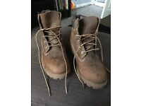 Size 4 Timberlands boots