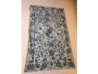 Pretty wool rug