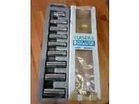 "Laser 9 piece 1/2""Drive socket set"
