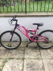 Womens Matrix Shock Bike Pink