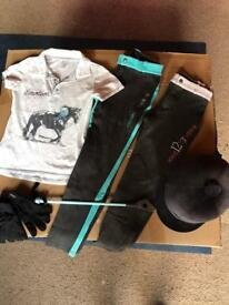 Girls Horse riding outfit age 12