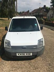 2008 transit connect t200/75ps very clean van 65000 Miles f/s/h £1495 Ono novat