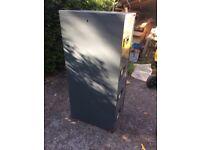 4 draw easyscan filing cabinet with key and in good working order