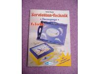 Servietten-Technik * Decoupage * Globi mit farbigem Vorlagebogen Nordrhein-Westfalen - Dülmen Vorschau