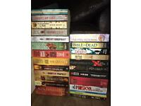 Books for sale - will accept best offers - just message the book and price you want to pay