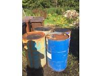 Metal barrels 200lt
