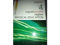 Higher PE bright red study guide