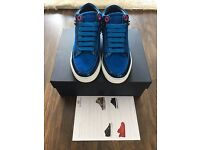 Designer - ROYAUMS Killian BRAND NEW Azure Blue - womens size 35