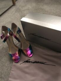 Designer multicoloured shoes UK 5.5