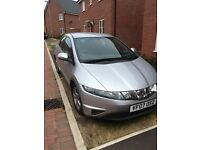 Honda Civic 1.8 silver 5 door