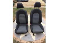 VW Passat CC interior ( seats, cloth, not leather, not golf, not audi )