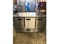 Commercial bench counter pizza fridge for shop cafe restaurant takeaway lajsjsj