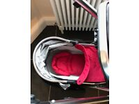 Babystyle oyster max optional tandem pushchair