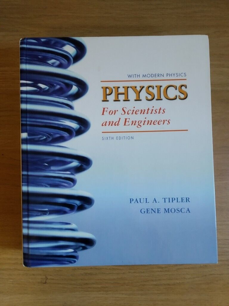 Physics For Scientists And Engineers 6th Edition Good Condition