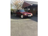 Hence price BMW e36 very economic touring calypso red 318 tds manual drives superb swap px