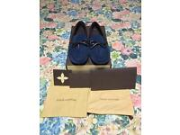 BNIB Louis Vuitton arizona loafers/driving shoes suede mens UK8