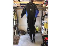 Typhoon scuba drysuit & undersuit