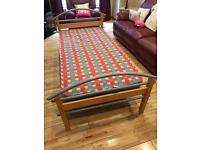 Single bed and matress