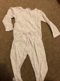 18-24 months girls clothes/pyjamas