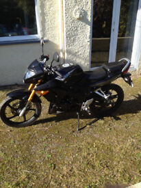 brand new skyjet motorbike, never used on road, excellent condition