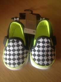 Brand new next baby shoes
