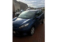 Fiesta style +(plus) 2010 3 door blue. 27000 miles. Bluetooth. Air con. Voice control. £4800