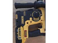 DeWalt DCH253 18V XR lithium-ion SDS+ Rotary Hammer come with only batty only