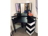 Medders Dressing Table with Mirror – Wayfair
