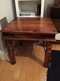 Mango wood coffee/side table