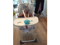 High Chair (Brand new used for 4 months)