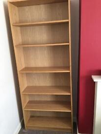 Ikea billy bookcase oak finish