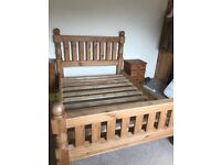 Padgetts Pine double bed frame