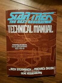 Star Trek Technical Manual ( The Next Generation) 1991