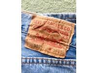 Levi 501 Men's Jeans Waist 34 Leg 32
