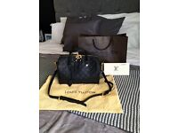 Louis Vuitton Speedy 30 Bandoiliere Monogram Empreinte Leather. Rare!