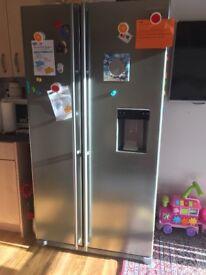 Samsung Double door fridge freezer-excellent condition
