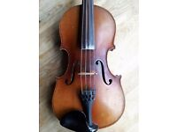 Antique Violin (1920s German) - professionally set up in perfect playing order
