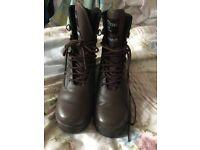Size 5 Air Cadet Boots unworn