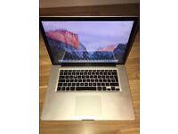 """Macbook Pro 15.4"""" High Specs: i7 , 8GB Ram, 500 GB HDD , Intel HD Graphics . 350£"""