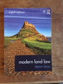 MODERN LAND LAW BOOK - Martin Dixon
