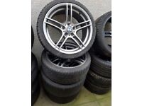 Genuine Bmw 313 19'' Staggered Alloy Wheels Can Sell Singles Can Post Part Exchange Welcome