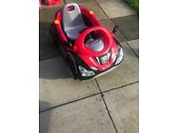 Kids motorised car