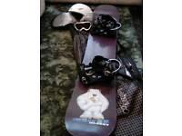 Snowboard black