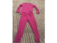 Children skiing base layer age 5 to 6