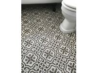 3 x Berkeley Charcoal Floor Tiles (from Topps Tiles)