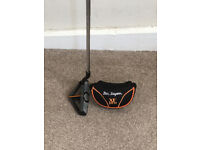 BEN SAYERS XF PRO ANTI SHANK GOLF CHIPPER (Complete with genuine headcover).